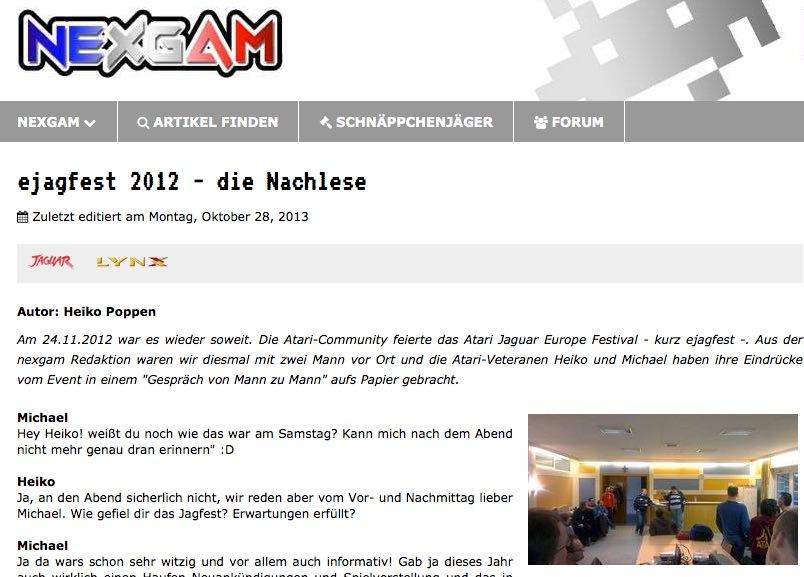Nexgam Special - ejagfest 2012