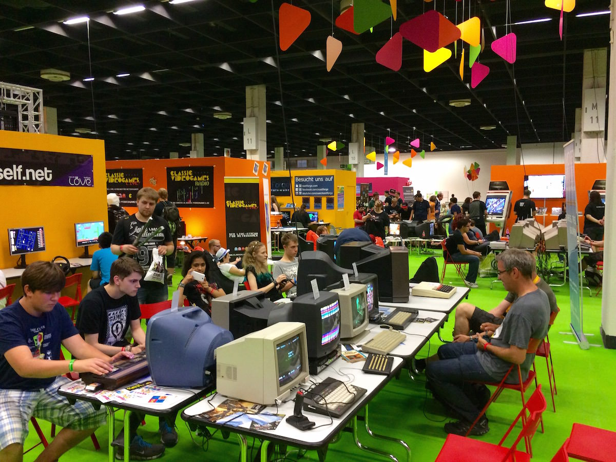Gamescom 2015 - Retro Booth