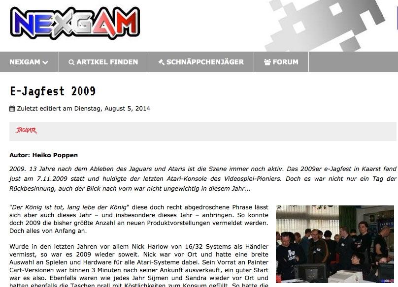 Nexgam Special - ejagfest 2009