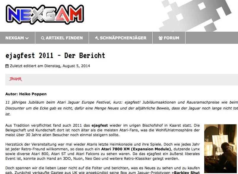 Nexgam Special - ejagfest 2011