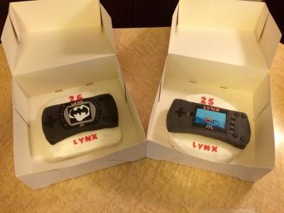 Happy 25th Anniversary Lynx Cake - ejagfest 2014