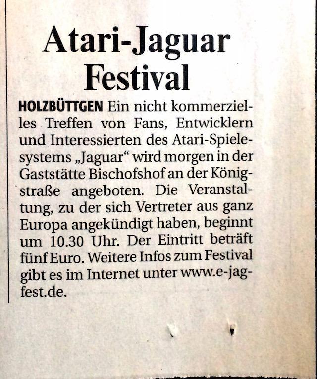 NGZ 22.10.2004 -  Artikel ejagfest 2004